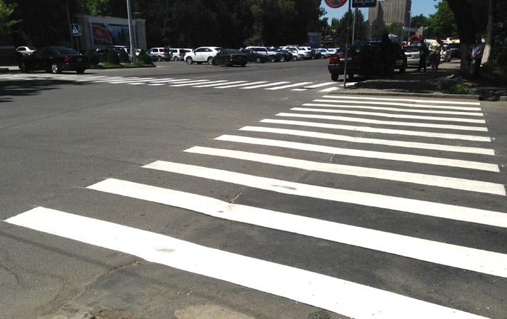 Бишкек - дорожная разметка (2)