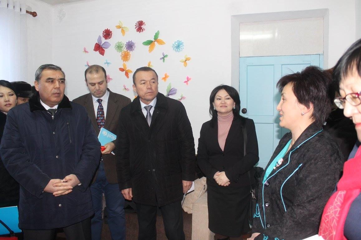 Открытие  центра помощи детям  в г.Талас