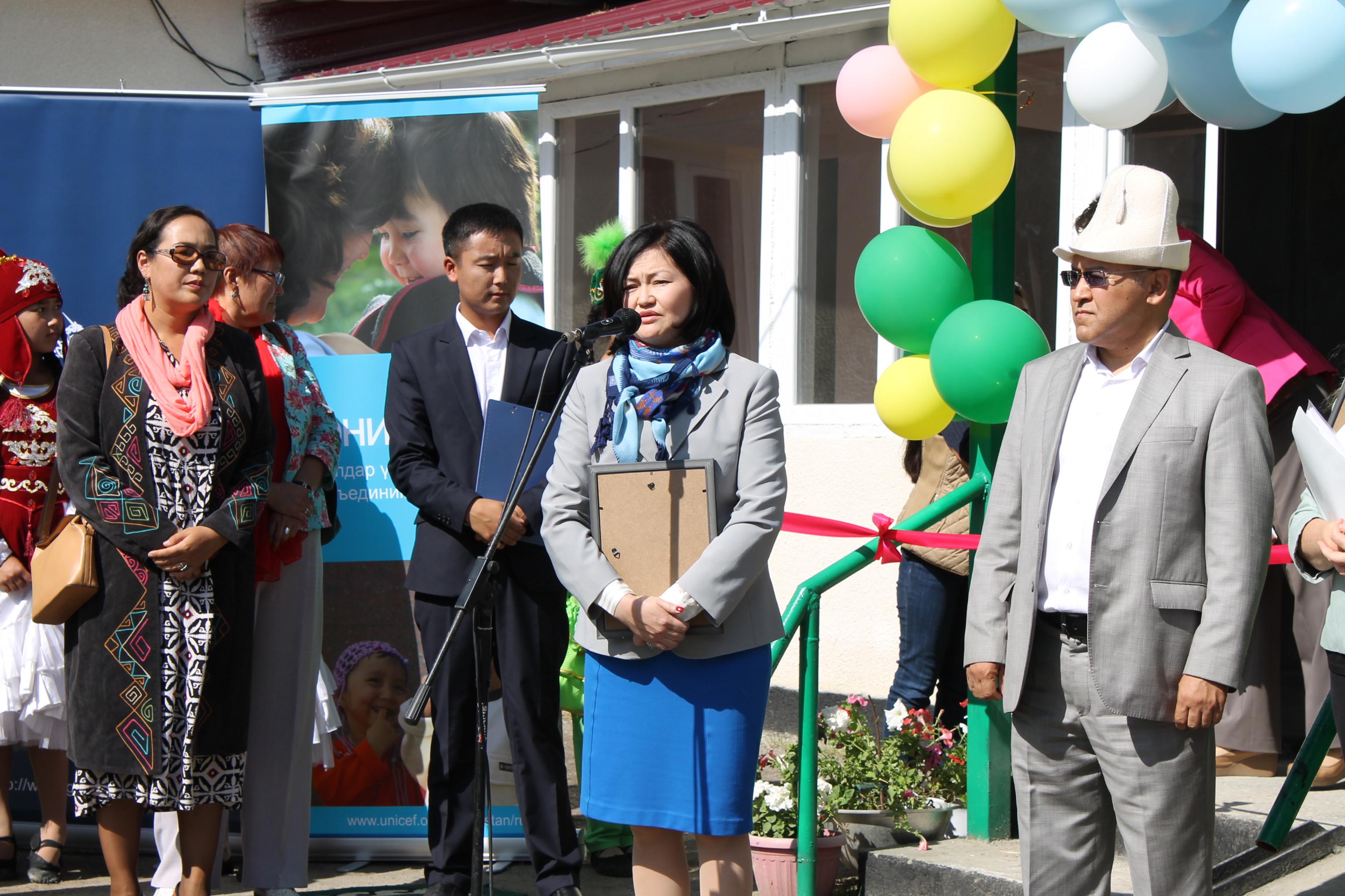 Открытие Центра помощи детям в г.Каракол