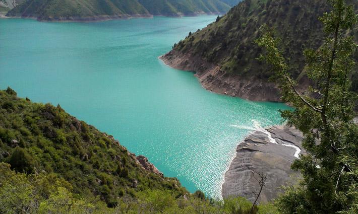 Озеро Кара-Суу, Кыргызстан (2)