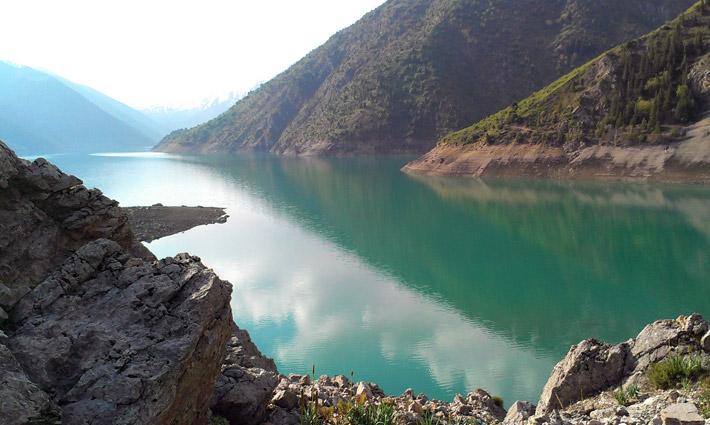 Озеро Кара-Суу, Кыргызстан (1)