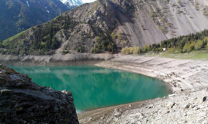 Озеро Кара-Суу, Кыргызстан (25)