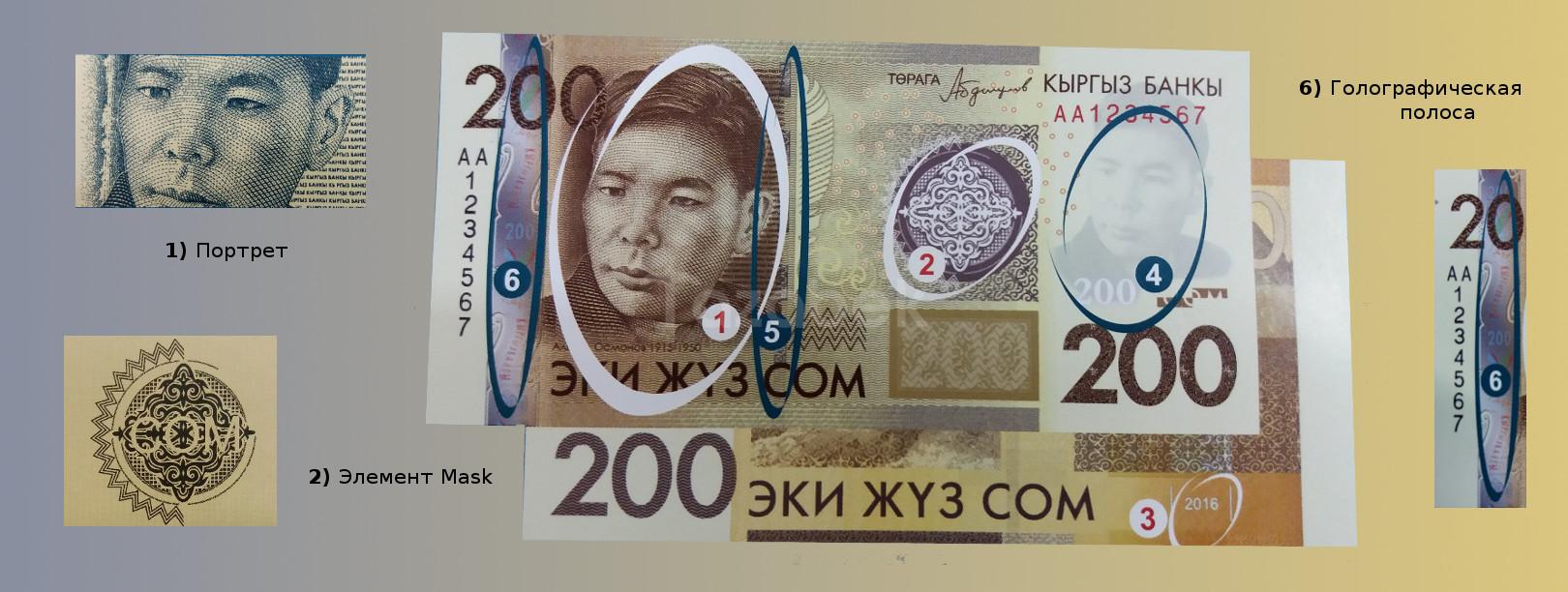 200 сомов сборка