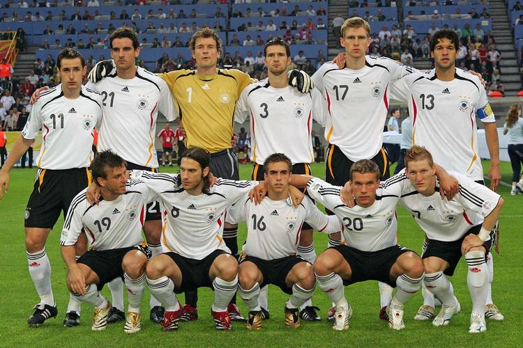 Лучшая немецкая футбольная команда
