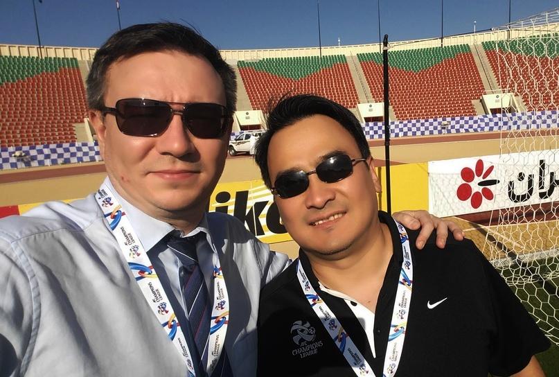 Кемел Токобаев и Павел Лузанов