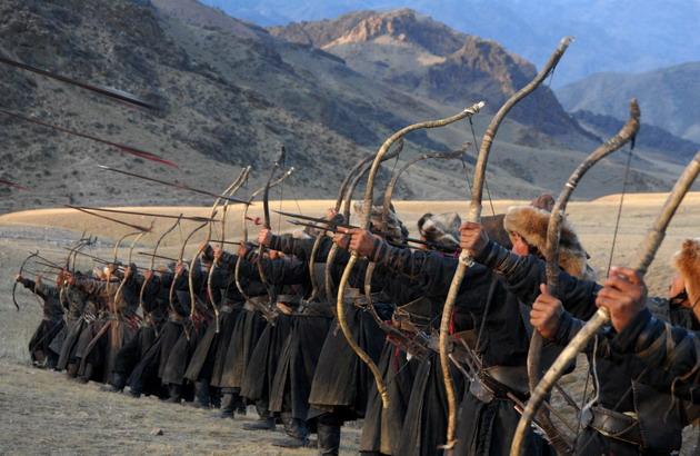 Сюжет о походе монголов на Ангару во времена правления ханши Сорхухтани (се