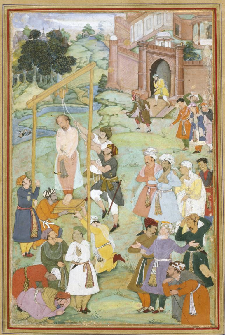 Amir_Khusraw_Dihlavi_-_The_Hanging_of_Mansur_al-Hallaj