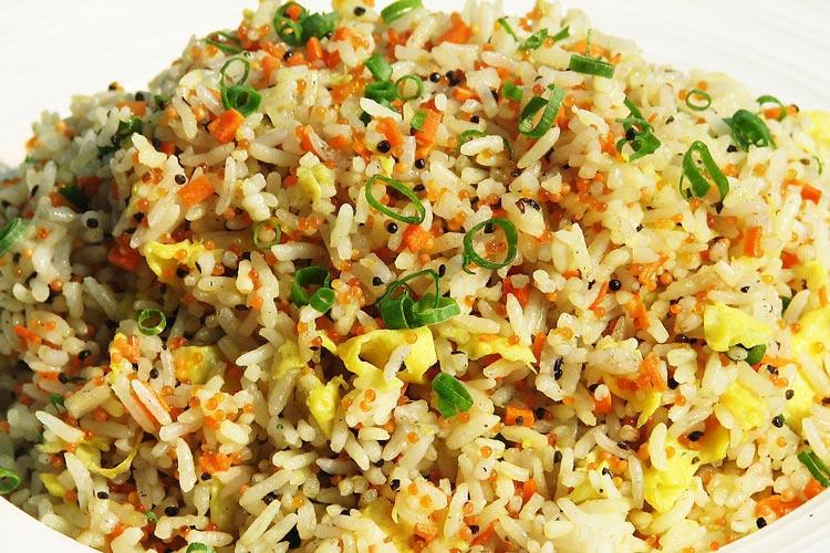 Рис с яйцом и овощами по-китайски рецепт с фото пошагово