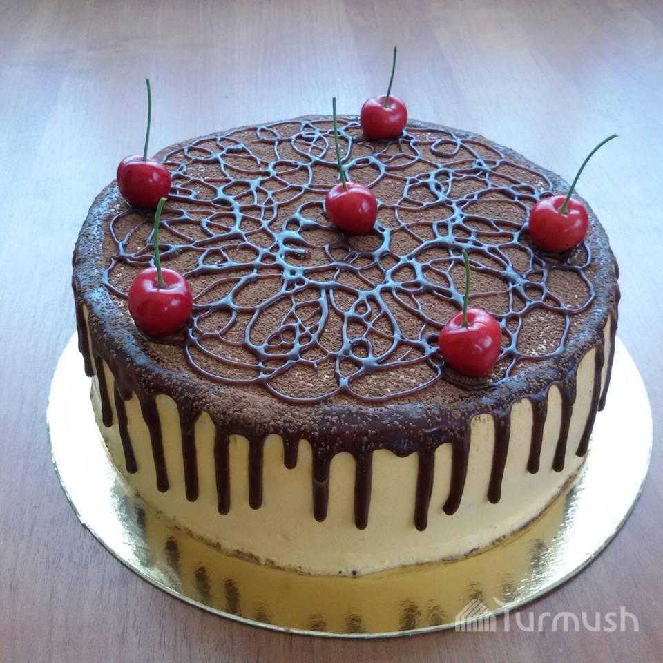 Необычная форма торта
