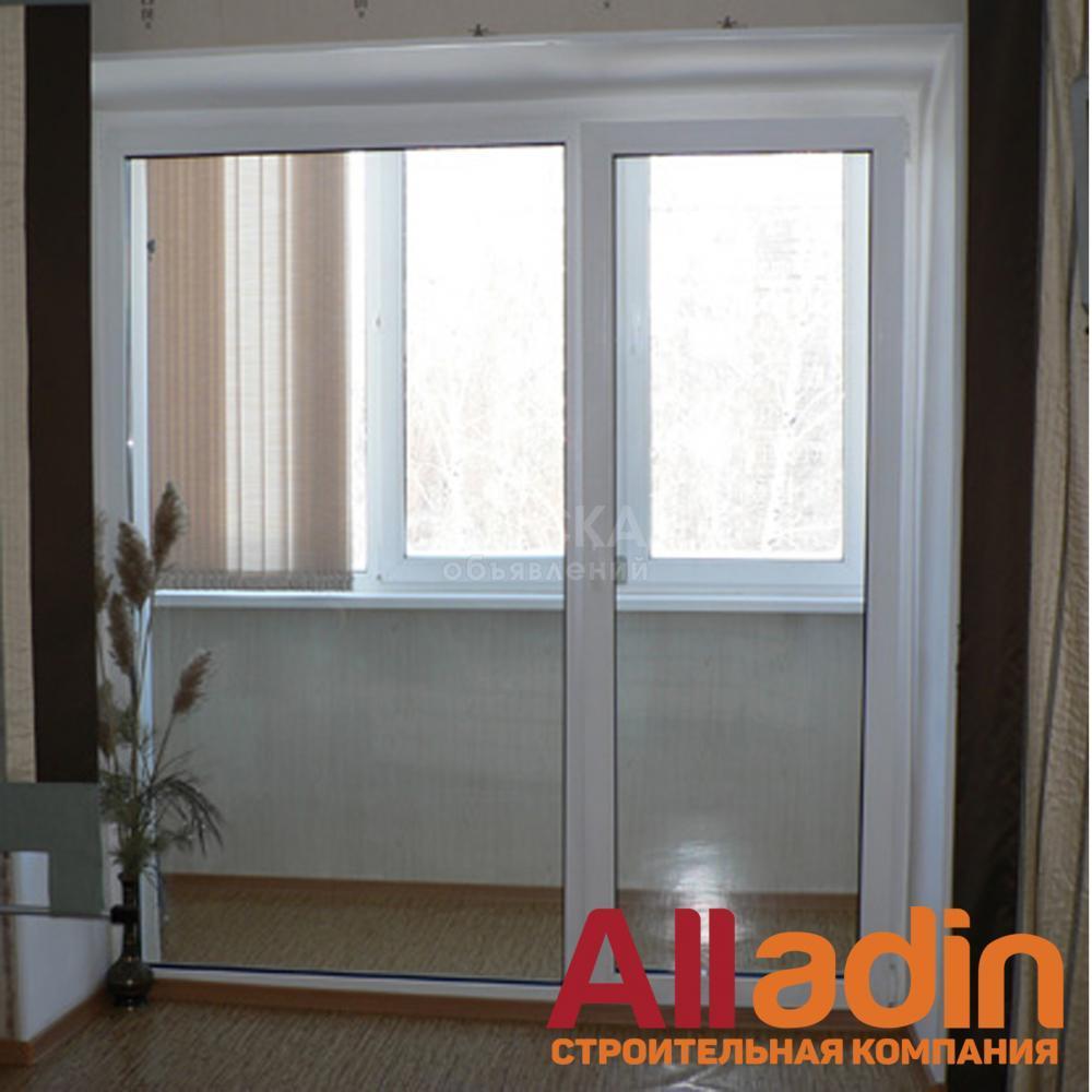 Пластиковые окона, двери витражи, балконы,перегородоки - окн.
