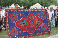 Creation of felt carpets demands unity among the community and fosters the transmission of traditional knowledge – as a rule by older women who are normally concentrated in rural and mountainous areas, to younger women within the family.