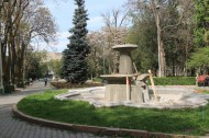 2016, another fountain in the Oak Park is being rehabilitated prior to the season beginning.