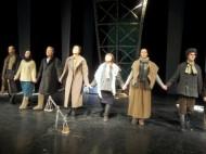 The roles were performed by Alexander Balbekin, Anastasiya Malkova, Taras Kovalev, Jibek Birikova, Yana Kolesnikova and Tanuir Sokolov.