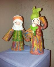 Dolls of Erke Jumagulova were recognized by UNESCO.