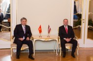 Cooperation in improving election technologies of Kyrgyzstan, taking into account the Latvian experience was mentioned.