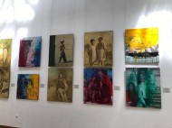 "Exhibition of Kyrgyz artists ""New Wave"" opened in  State Art Museum named after A. Kasteev in Almaty, Kazakhstan. <br />