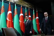 President of Turkmenistan Gurbanguly Berdimuhamedov paid official visit to Turkey's Ankara on March 2-3 to meet with his Turkish counterpart Recep Tayyip Erdogan.