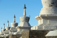 Walls surrounding Erdene Zu Monastery