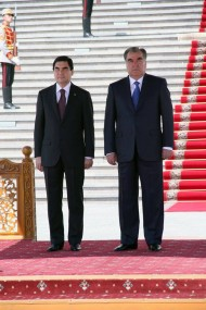 The Tajik-Turkmen high-level talks following which the sides signed nine documents, were held in Dushanbe on Monday.