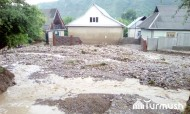 After heavy rains on June 4-5, water level rose in the Padysha-Ata, Itagar and Avletim Rivers, which triggered mudflows in Avletim, Kashka-Suu and Kyzyl-Suu villages.