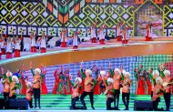 The Culture Week in Turkmenistan was concluded with the gala concert of Turkmen and foreign artists, winners of national and international contests, famous dance groups on June 29. The singers from Azerbaijan, Armenia, China, Kazakhstan, Kyrgyzstan, Tajikistan, Turkey and Uzbekistan participated in the concert.