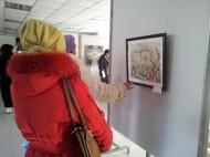 The exhibition coincides with the International Women's Day on March 8.