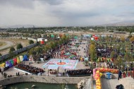 Directors and organizers of this event chose the area near the waterfall of Navruzgoh park as the center of the carnival.