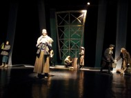 """The State National Theater of Russian Drama of Kyrgyzstan staged the play """"I do not want to die"""" on January 29 dedicated to the 70th anniversary of the siege of Leningrad."""