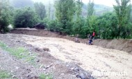 Mudflows occurred 11 km of Kerben — Kashka-Suu road and 17-22 km of Kara-Jygach — Sary-Chelek road, which created traffic problems.