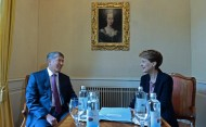Both presidents stressed the importance of further deepening the Kyrgyz-Swiss partnership.