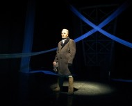 """The performance was made on the play of Olga Bergholz """"They lived in Leningrad""""."""