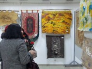 It includes works of women from the Art School, the Art Academy and the Kyrgyz State University of Construction, Transport and Architecture, as well as honored female artists of Kyrgyzstan.