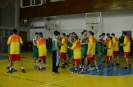 National basketball team of Kyrgyzstan lost in the opening match of the international basketball tournament Nooruz 2014, held on 17 March 2014.