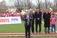 The Football Federation of Kyrgyzstan has taken a new course of development and demonstrates good results, FIFA President Blatter said in his remarks.