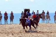 The Kok-Boru President's Cup is under way in horse racetrack of Cholpon-Ata town in Issyk-Kul August 26-31.<br />