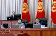 President Almazbek Atambayev participated in the event.