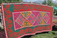 The Kyrgyz felt carpets Ala-kiyiz and Shyrdaks were inscribed into the UNESCO List of Intangible Cultural Heritage in Need of Urgent Safeguarding on 4-7 December 2012.