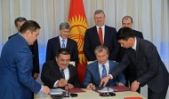 Rosneft and Manas International Airport signed the memorandum of intention regarding possible investments into Manas International Airport, framework agreement concerning acquisition of the stake in Intek LLC by Rosneft and participation in uninterrupted jet fuel supplies for Osh airport.