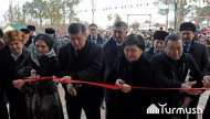 Prime Minister of Kyrgyzstan Sooronbai Jeenbekov took part in the opening ceremony of a gym in village Kara Shaar in Issyk-Kul region on December 20.<br />