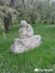 Sheker village in Talas region is home to a park full of monuments to the characters of Kyrgyz writer Chinghiz Aitmatov. <br />