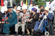 The meeting-requiem on occasion of the 69th anniversary of Victory in the Great Patriotic War took place in Bishkek on May 9.