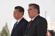 Chinese President Xi Jinping made a state visit to Tajikistan on September 12-14.