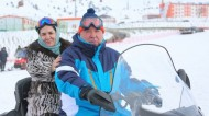 President of Tajikistan Emomali Rahmon, his spouse and son visited the ski resort Safed-Dara, the President's press service reported.