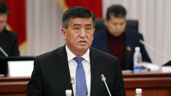 Президент Киргизии подписал указ оназначении нового состава руководства