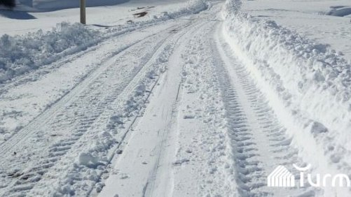 Навалило снега— вОшской области временно закрыли одну дорогу