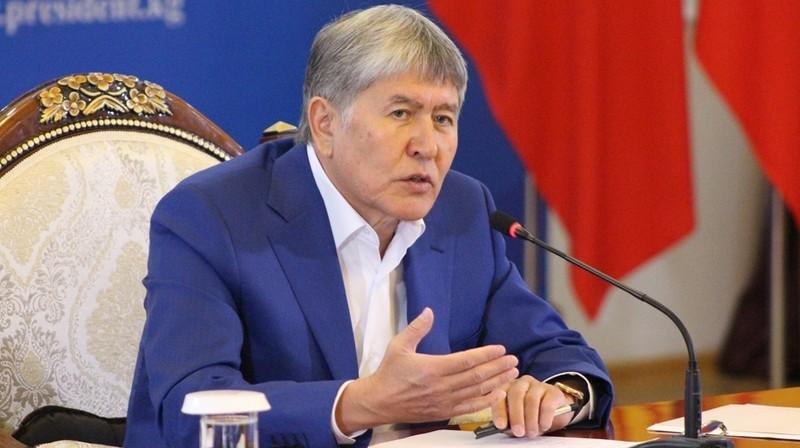 Атамбаев сказал, почему закрыл авиабазу США вКиргизии вминувшем году