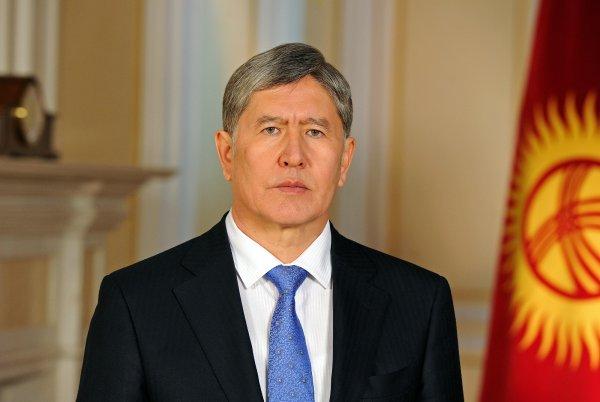 Президент Киргизии ушел вотпуск нанеобъявленный срок