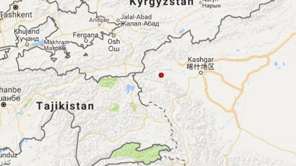ВКыргызстане случилось землетрясение силой 5 баллов