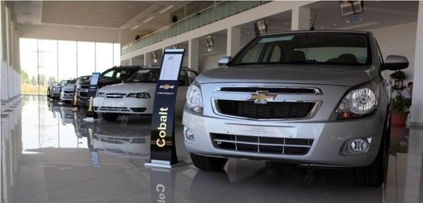 На рынках Узбекистана подорожали автомашины GM Uzbekistan
