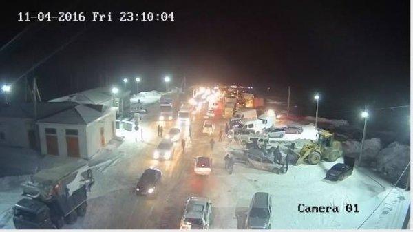 МЧС: Уфуры, протаранившей три автомобиля, отказали тормоза